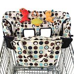 Crocnfrog 2-in-1 Shopping Cart Cover