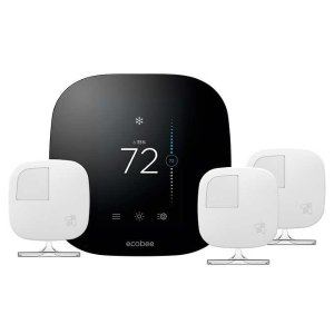 $199.99ecobee 3 Smart Thermostat with 3 Room Sensors