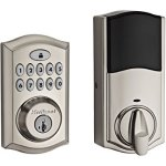 Kwikset 99130-001 SmartCode 913 UL Electronic Deadbolt featuring SmartKey in Lifetime Polished Brass