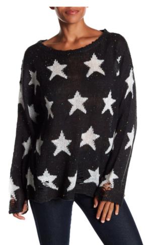 WILDFOX Seeing Stars Knit Sweater