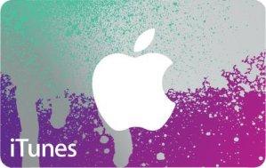 $85.00价值$100 苹果iTunes 礼卡