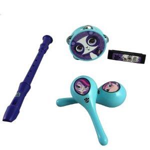Littlest Pet Shop 5-Piece Music Kit