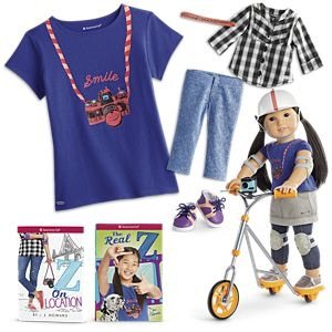 Up to $69.99 offSelect Gabriela™, Tenney™, & Z™ Doll Collections @ American Girl