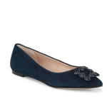 Karl Lagerfeld Paris Nara Suede Ballet Flats @ Lord & Taylor