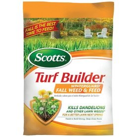 $18Scotts Turf Builder Winter guard Fall Weed & Feed I 15.52 Pound