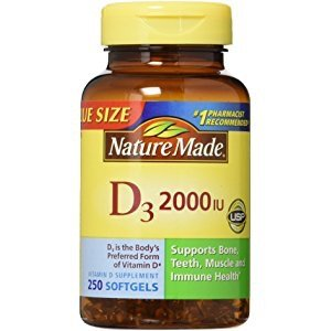$6.68Nature Made Vitamin D3 2000IU 220 片