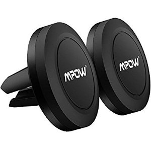 Mpow Car Phone Holder,Universal Air Vent Magnetic Car Mount for iPhone