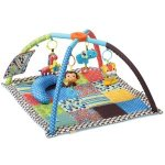 Infantino Safari Fun Twist and Fold Activity Gym and Play Mat
