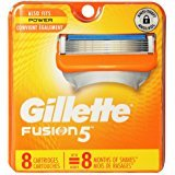 Gillette Fusion5 Men's Razor Blades - 8 Cartridge Refills