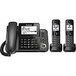 Panasonic KX-TGF382M Link2Cell Bluetooth Corded / Cordless Cordless Phone and Answering Machine