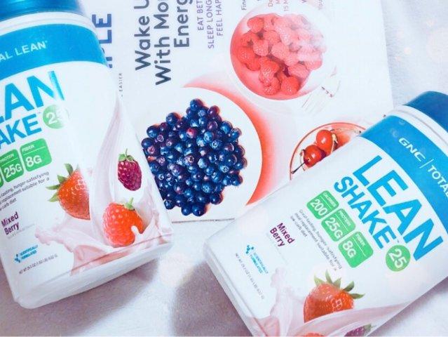 v营养营养减脂解决食欲不a营养?gnc莓果味代餐粉来减重减肥方法张若溪图片