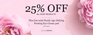 7.5折+送礼Jurlique玫瑰系列75折,另送价值$19的眼霜,特价套装也参加