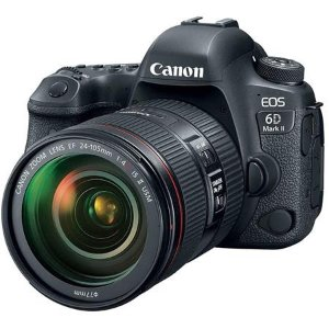 $2899 (原价$3099)Canon 6D Mark II 机身 + 24-105mm f/4L IS II USM 镜头