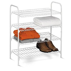 #1 Best sellerHoney-Can-Do SHO-01172 4-Tier Closet Accessory Shelf, White