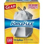 Glad 13 Gal. Fresh Lemon Febreze Odor Shield Drawstring (40-Count)