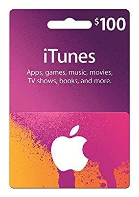 $85 (原价$100)iTunes $100 礼卡