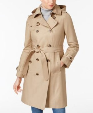 $97.99London Fog 女士风衣