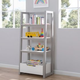 $99.84Delta Children Ladder Shelf, White & Grey