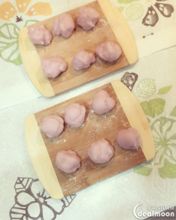 2分钟搞定 粉色少女心的冰皮月饼