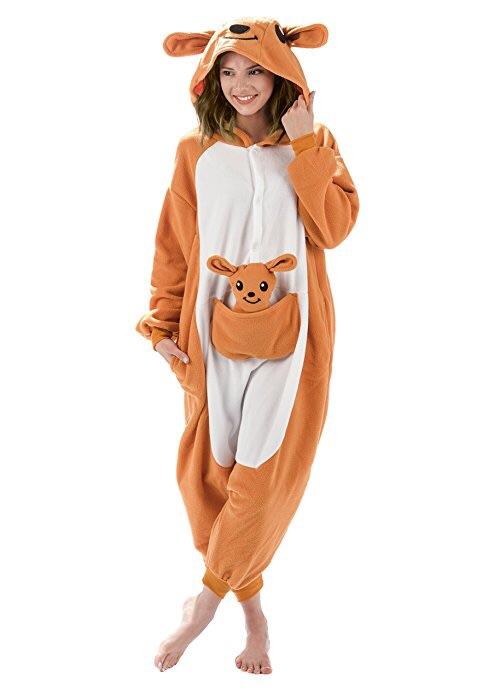 emolly 时尚袋鼠动物服饰