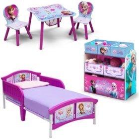 $104.84Delta Children Frozen 3-Piece Toddler Bedroom Set