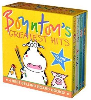 $7.93史低价:Boynton's Greatest Hits 经典儿童绘本第一卷 4本