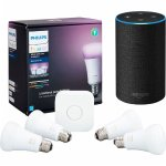 Philips Hue A19 White and Color Start Kit + Echo 2nd