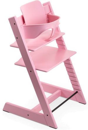 $199Stokke Tripp Trapp High Chair & Baby Set - Soft Pink