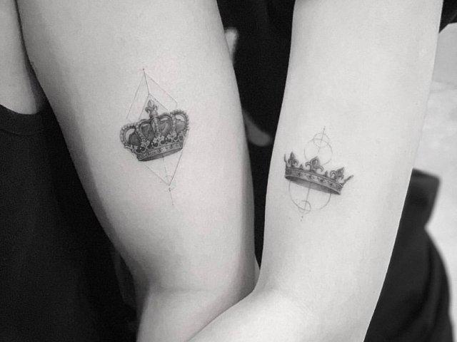 【纹身】又多了个纹身了!情侣纹身创意看这里