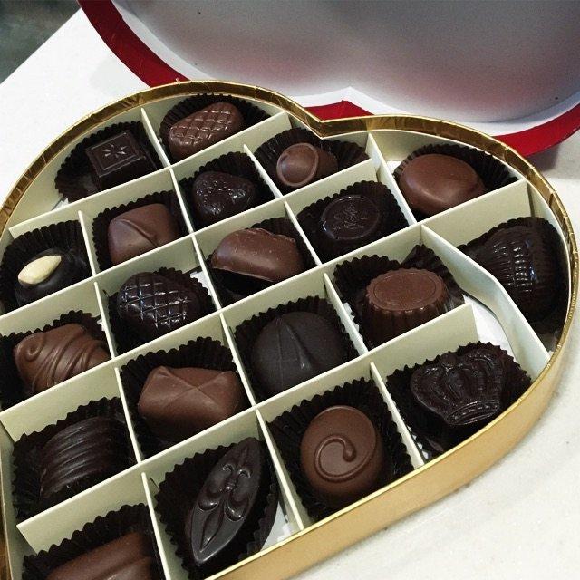 英国的牌子,包装到巧克力都很可爱,情人节必备