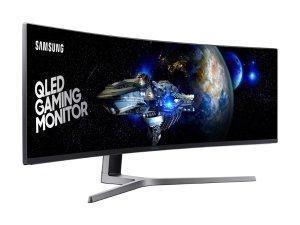 $999Samsung 49吋 CHG90 QLED 144Hz Free-Sync 游戏显示器