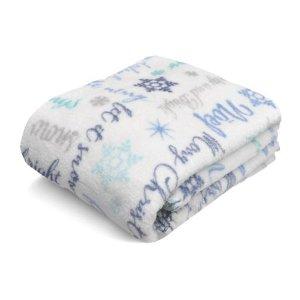 10.00/4.69Mainstays Cozy Plush Fleece Throw Blanket, Holiday Dogs - Walmart.com