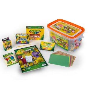 Crayola各种彩色笔$11.99Crayola Jumbo Art Creativity Kit | null