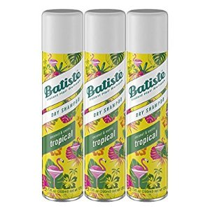 $12Batiste Dry Shampoo, Tropical Fragrance, 3 Count