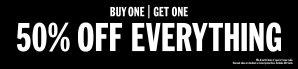 buy one get one 50% offUrban Outfitters