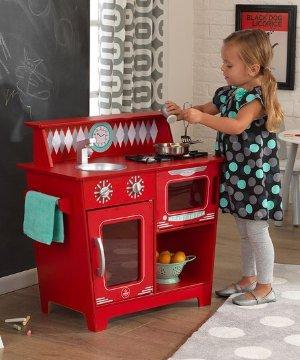 $42.99Kitchenette 玩具小厨房 红色