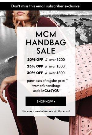 MCM 7折Neiman Marcus