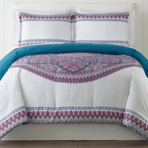 $25Home Expressions™ Candace Complete Bedding Set with Sheets