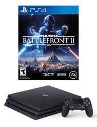 $349.99PlayStation 4 Pro 1TB 游戏主机+一款游戏(FIFA18或者星球大战前线2)
