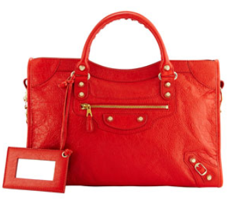 Balenciaga Giant 12 City Bag, Red