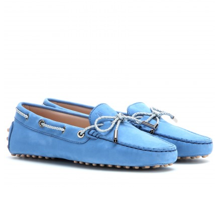 Tod's Heaven Laccetto Scooby Doo suede loafers