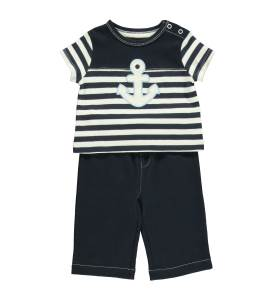 Baby Boys Little Sailor Top & Pant Set