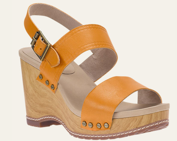 Women's Tilden Leather Double-Strap Sandals