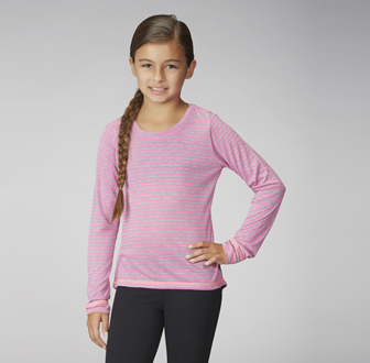 Marika Tek - Girls My Stripes Long Sleeve Stripe Tee