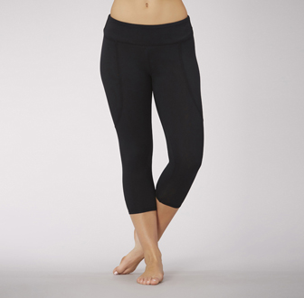 Balance - Center Stage Shirred Back Capri Legging