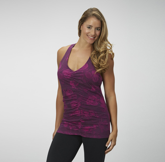 Marika Magic - Impulse Ruched Racer Tank