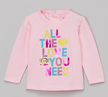 Pink 'All the Love You Need' Tee - Infant