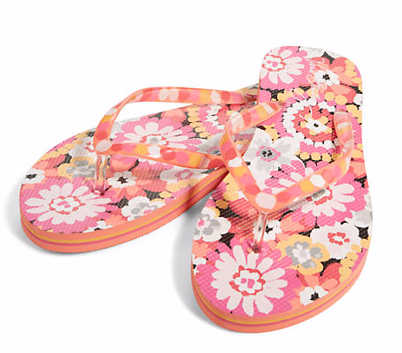 Flip Flops in Pixie Blooms