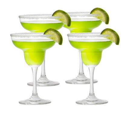 Barmaster's Margarita Glasses, Set of 4