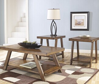 Signature Design by Ashley Byers 3 Piece Coffee Table Set
